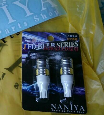 NANIYA T16 CREE+ハイパワーLED搭載 9.5Wクラス 2個セット