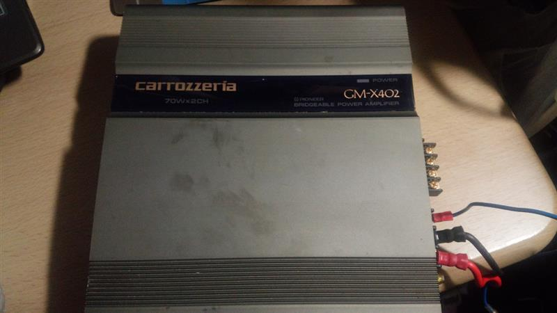 PIONEER / carrozzeria carrozzeria GM-X402