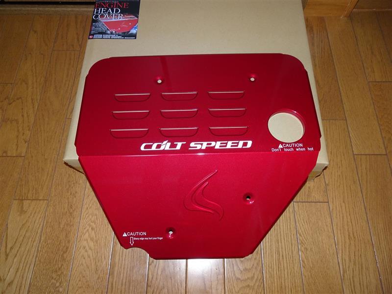 COLT SPEED エンジンヘッドカバー