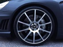 SLAMG SL55  10spoke design 20inch wheelの単体画像