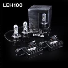 ピクシススペースPIAA ヘッドライト用LEDバルブ6000K H4タイプ LEH100の単体画像