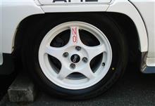 デボネア三菱自動車(純正) 三菱純正アルミホイールの単体画像