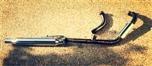 バルカン400クラシック不明 2in1 キャプトンマフラーの単体画像