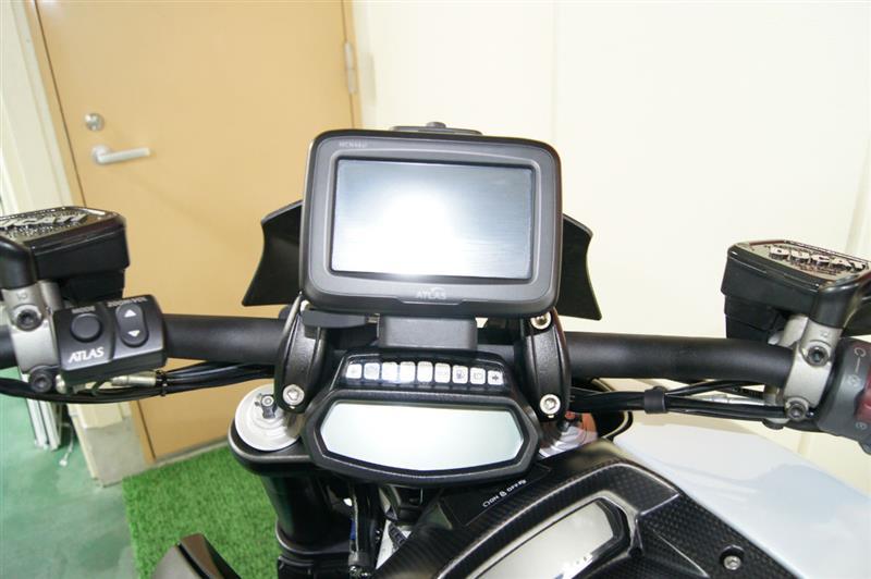 YUPITERU ATLAS モーターサイクルナビ MCN46si+オプション
