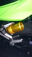 Ninja250OHLINS OHLINS ネジ式車高調整コンプリートキットの単体画像