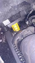 Ninja250OHLINS OHLINS ネジ式車高調整コンプリートキットの全体画像