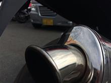 スピードトリプル T509Scorpion Exhausts うるさいマフラーの単体画像