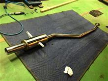 3シリーズ セダンgarageYAMAGO オリジナルステンレスマフラー(E36 318is用)の単体画像
