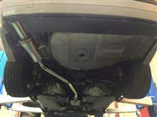 3シリーズ セダンgarageYAMAGO オリジナルステンレスマフラー(E36 318is用)の全体画像