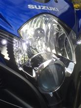 GSX-R600Sphere Light LEDコンバージョンキットの全体画像