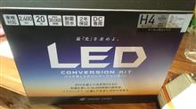 TZR250RSphere Light バイク用LEDコンバージョンキット H4 Hi/Loの単体画像