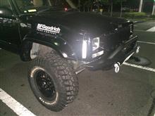 チェロキーOR-FAB heavy duty Jeep XJ front bumper の全体画像