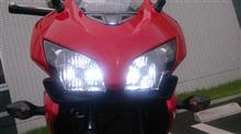 CBR400Rメーカー・ブランド不明 50W LEDヘッドライト H7バルブの単体画像