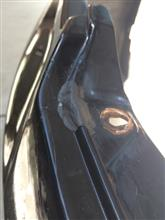ランサーセディアワゴンTOPLINE FRONT BUMPER SPOILERの単体画像