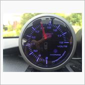 AutoGauge 電圧計 SWL52φ