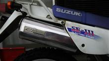 ジェベル125ラフ&ロード RSVマフラー  シリーズ2の単体画像