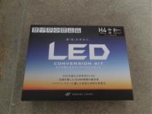 YZF-R15Sphere Light LED 20W 2灯 H4 Hi/Lo 6000Kの単体画像
