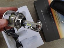 YZF-R15Sphere Light LED 20W 2灯 H4 Hi/Lo 6000Kの全体画像