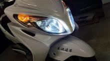 スカイウェイブ250SS海外製 H4 LEDヘッドライトの全体画像