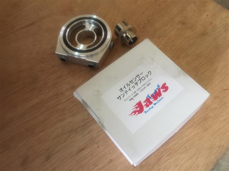 Jaws山本自動車 オイルセンサー・サンドイッチブロック