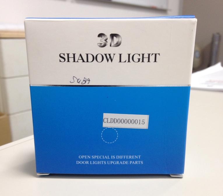 不明 shadow light