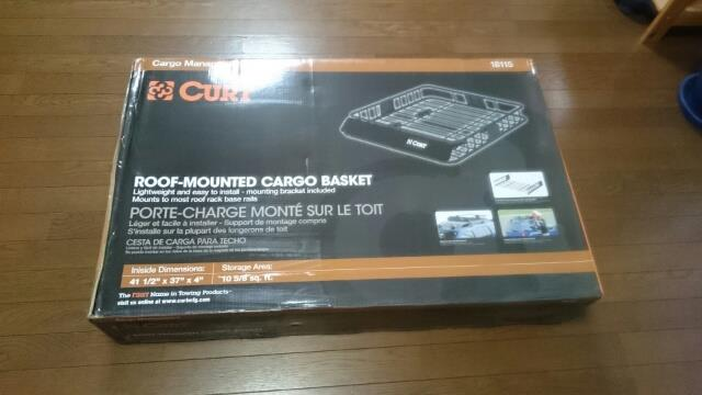 CURT ROOF MOUNTED CARGO BASKET