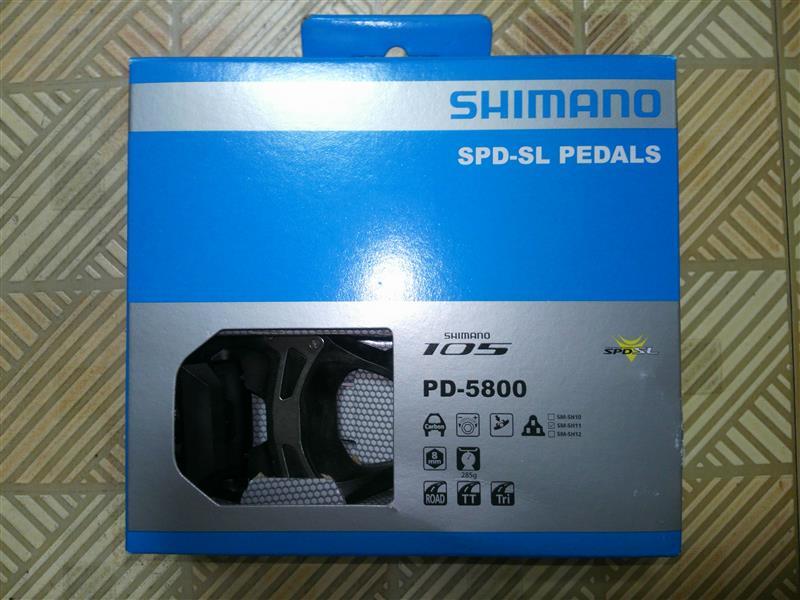 SHIMANO 105 「PD-5800」 SPD-SLペダル
