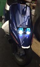 アドレスV100CREE  U5 LEDヘッドライトの単体画像