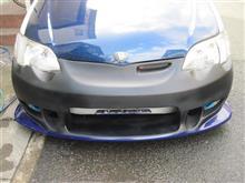 プラッツVISレーシング Tracer Front Bumperの単体画像