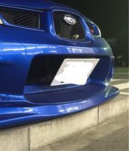 インプレッサ スポーツワゴン WRXings ings N-SPEC FRONT BUMPERの単体画像