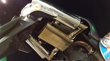 GSR400laser japan xstremeステンレススリップオンマフラーの全体画像