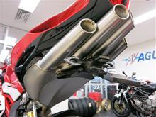 """F4-RRMoto Corse Titaniumu Exhaust System """"Evoluzione"""" Type-Cの単体画像"""