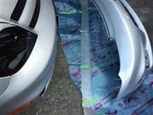 イストトヨタ純正 A-Sタイプ フロントバンパーシルバーの全体画像