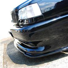 850エステートCarbon Fiber Works Front Lower Lip Spoilerの単体画像