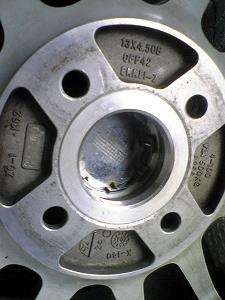 タイヤドクター ワンオフハブリング(焼嵌め)
