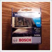 BOSCH プラス(+)ビュー 3450K H4(BHBS-PVH4)