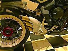 ブルターレ800ドラッグスターMVアグスタ 純正本国仕様3本出しマフラーの単体画像