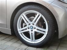 i3冬タイヤ用の アルミホイールの全体画像