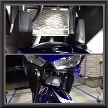 YZF-R25Subamotoparts ヤマハ YAMAHA用 ラジエターコアガード 適応モデル YZF R25 2014 2015の全体画像