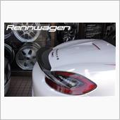 Rennwagen(レンヴァーゲン) Porsche Bpxsterリアスポイラー