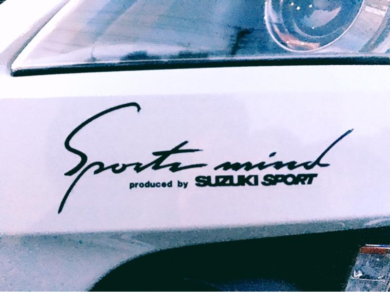 SUZUKI SPORT / IRD ボディグラフィック(スポーツマインド)