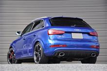 RS Q3MTM exhaust systemの全体画像