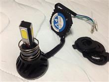 クレアスクーピーメーカー不明(ヤフオク) 24W 4面発光LEDヘッドライトの単体画像