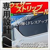 Share Style 30系アルファード車種専用 ウェザーストリップモース