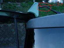 エレメント不明 リアスポイラーの全体画像