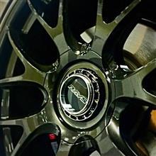レヴォーグ20in RAYS VOLK RACING G27の全体画像