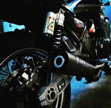 ゼファー1100KERKER スチール メガホン の全体画像
