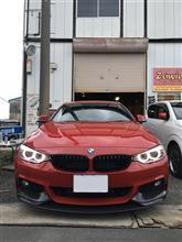 4シリーズ クーペBMW(純正) BMW Performance カーボンエアロダイナミックフロントスプリッターの全体画像