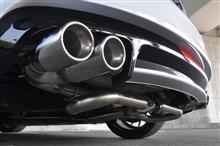 TT クーペAS Sport AS Sport ループエキゾーストシステムの単体画像
