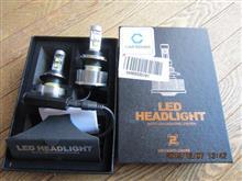 アドレス110(FI)ノーブランド LEDヘッドライトH4 12-24v 6000k 30w 3000LM 2本左右セットの単体画像